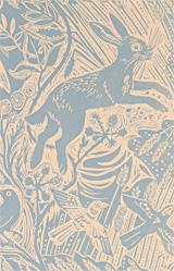 Mark Hearld Harvest Hare Wallpaper