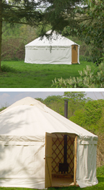 Broadland Yurts at Burlingham Hall